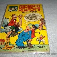 Tebeos: OLÉ Nº 34 RIGOBERTO PICAPORTE. BRUGUERA 1972 CON Nº EN LOMO. 40 PTS. MUY DIFÍCIL!!!!!!!!!!!!. Lote 33293804