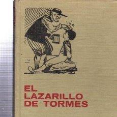 Tebeos: EL LAZARILLO DE TORMES, SERIE CLÁSICO JUVENILES, 36, BRUGUERA, 191PÁGS, ENC. EDITORIAL. Lote 33342051