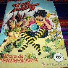 Tebeos: LILY EXTRA PRIMAVERA 1982. BRUGUERA 100 PTS. CON PÓSTER DE REGALIZ.. Lote 84216203