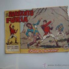 Tebeos: SARGENTO FURIA Nº 8 ORIGINAL. Lote 33419130