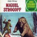 Tebeos: MIGUEL STROGOFF (JOYAS LITERARIAS JUVENILES Nº1) DIBUJOS: JUAN GARCÍA QUIRÓS. Lote 33487828