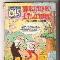 Tebeos: COLECCION OLE Nº 079 MORTADELO Y FILEMON DOS PERCEBES EN APUROS BRUGUERA 2ª EDICION. Lote 33641041