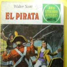 Tebeos: EL PIRATA - JOYAS LITERARIAS JUVENILES #6 - 1979. Lote 33517823