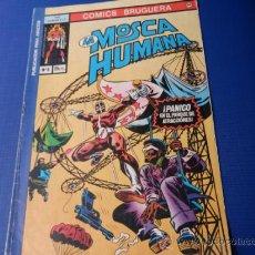 Tebeos: LA MOSCA HUMANA, NUM. 6 - COMICS BRUGUERA. Lote 33618953