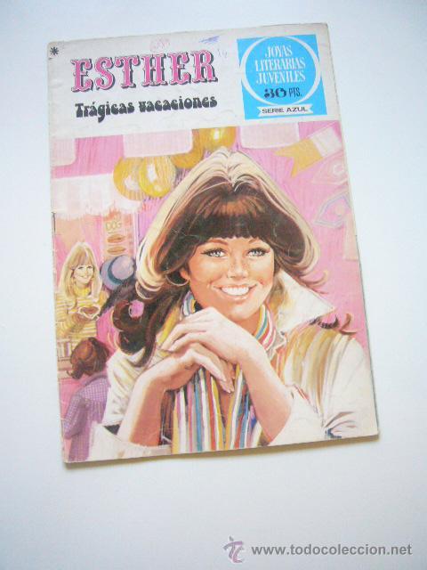ESTHER Nº 28 JOYAS LITERARIAS JUVENILES SERIE AZUL BRUGUERA C9 (Tebeos y Comics - Bruguera - Esther)