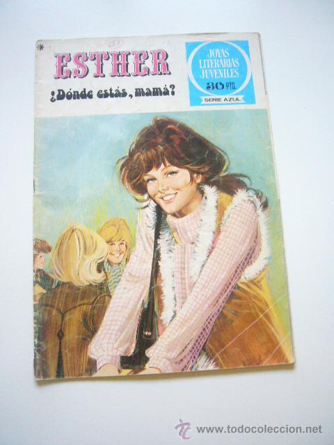 ESTHER Nº 27 JOYAS LITERARIAS JUVENILES SERIE AZUL BRUGUERA C9 (Tebeos y Comics - Bruguera - Esther)