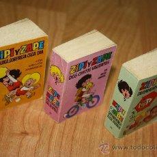 Tebeos: COMICS MINI INFANCIA ZIPI Y ZAPE N 25, 27 & 28 EDITORIAL BRUGUERA. AÑOS 70. Lote 33678986