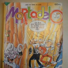 Tebeos: COMIC MORTADELO Nº 205 ED.BRUGUERA 100 PTS.AÑO XV-1984. ANUNCIO LEGO. LEGOLAND. Lote 33688658