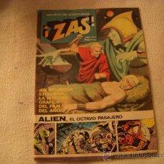 Tebeos: ¡ZAS! Nº 4, REVISTA DE AVENTURAS, EDITORIAL BRUGUERA, AÑO 1979. Lote 33753242