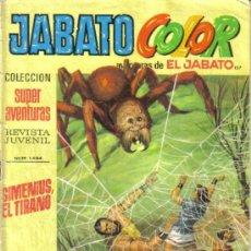 Tebeos: JABATO COLOR Nº 157. SIMENIUS, EL TIRANO. BRUGUERA 1972. LITERACOMIC.. Lote 33750727