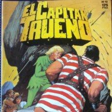 Tebeos: EL CAPITAN TRUENO--Nº 40-- EDICION HISTORICA--EDICIONES B GRUPO Z--ORIGINALES . Lote 33950453