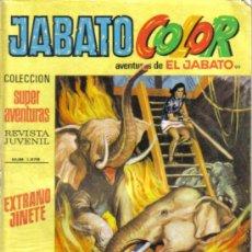 Tebeos: JABATO COLOR Nº 99. EXTRAÑO JINETE. BRUGUERA 1971. LITERACOMIC.. Lote 33982192
