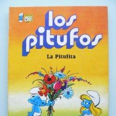 Tebeos: COLECCION OLE - LOS PITUFOS 4 - PRIMERA 1ª EDICION - LA PITUFITA NUEVO - COMIC DE EDITORIAL BRUGUERA. Lote 33994614