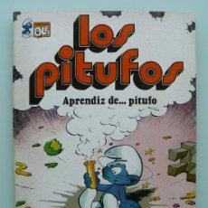 Tebeos: COLECCION OLE - LOS PITUFOS 8 APRENDIZ DE PITUFO PRIMERA 1ª EDICION PEYO NUEVO - COMIC BRUGUERA 1980. Lote 33994733