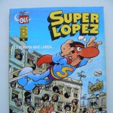 Tebeos: COLECCION OLE 6 SUPERLOPEZ SUPER LOPEZ - EDICION 1990 - JAN - COMIC DE EDICIONES B - NUEVO. Lote 57049177