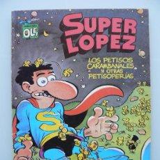 Tebeos: COLECCION OLE 15 SUPERLOPEZ SUPER LOPEZ - REIMPRESION 1990 - JAN - COMIC DE EDICIONES B. Lote 104588626