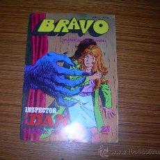 Tebeos: INSPECTOR DAN DE BRAVO Nº 17 DE BRUGUERA . Lote 34020762