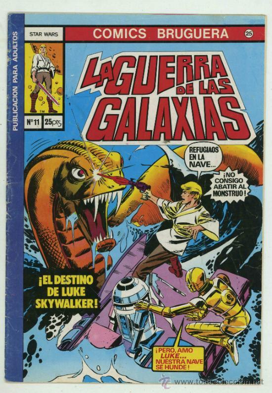LA GUERRA DE LAS GALAXIAS Nº11. (Tebeos y Comics - Bruguera - Otros)