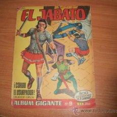 Tebeos: EL JABATO ALBUM GIGANTE Nº 9 EDITORIAL BRUGUERA 1966 . Lote 34161756