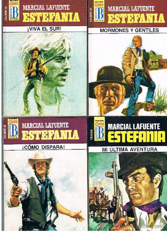 MARCIAL LAFUENTE ESTEFANIA 4 NOVELAS NUEVAS LOTE Nº 3 (Tebeos y Comics - Bruguera - Cuadernillos Varios)
