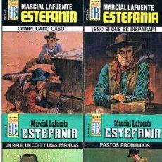 Tebeos: MARCIAL LAFUENTE ESTEFANIA 4 NOVELAS NUEVAS LOTE Nº 5. Lote 34188982
