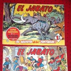 Tebeos: EL JABATO Nº98: ¡PIRATAS AL ACECHO! + Nº113: ¡EL SECRETO DE LAS TORTUGAS!. Lote 34913653