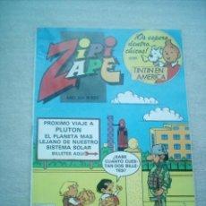 Tebeos: ZIPI ZAPE Nº 625 BRUGUERA 1985 CON TINTIN. Lote 34283772