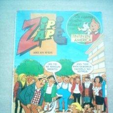 Tebeos: ZIPI ZAPE Nº 626 BRUGUERA 1985 CON TINTIN. Lote 34283781