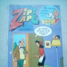 Tebeos: ZIPI ZAPE Nº 627 BRUGUERA 1985 CON TINTIN. Lote 34283816