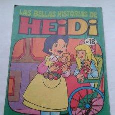Tebeos: LAS BELLAS HISTORIAS DE HEIDI . Nº 18. AÑOS 70. Lote 34385105