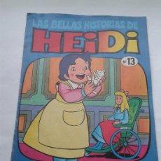 Tebeos: LAS BELLAS HISTORIAS DE HEIDI . Nº 13. AÑOS 70. Lote 34385117