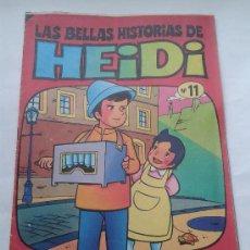 Tebeos: LAS BELLAS HISTORIAS DE HEIDI . Nº 11. AÑOS 70. Lote 34385128