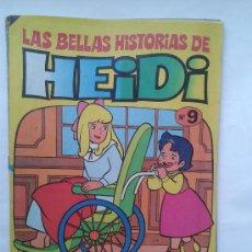 Tebeos: LAS BELLAS HISTORIAS DE HEIDI . Nº 9. AÑOS 70. Lote 34385160