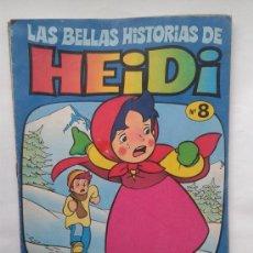 Tebeos: LAS BELLAS HISTORIAS DE HEIDI . Nº 8. AÑOS 70. Lote 34385172
