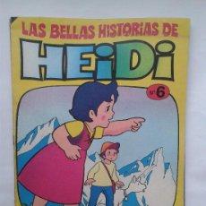 Tebeos: LAS BELLAS HISTORIAS DE HEIDI . Nº 6. AÑOS 70. Lote 34385185