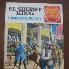 Tebeos: GRANDES AVENTURAS JUVENILES 14 EL SHERIFF KING BRUGUERA. Lote 34441625