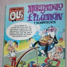 Tebeos: COLECCIÓN OLÉ Nº 279 M.51 : MORTADELO Y FILEMON CON ROMPETECHOS (1ª EDICIÓN 1987).. Lote 34455783