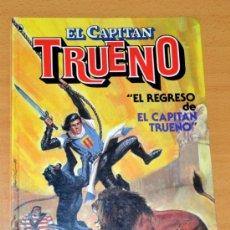 Tebeos: EL REGRESO DEL CAPITÁN TRUENO - JESÚS BLASCO Y VÍCTOR MORA - BRUGUERA - TAPA DURA - 1ª EDICIÓN 1986. Lote 34510167