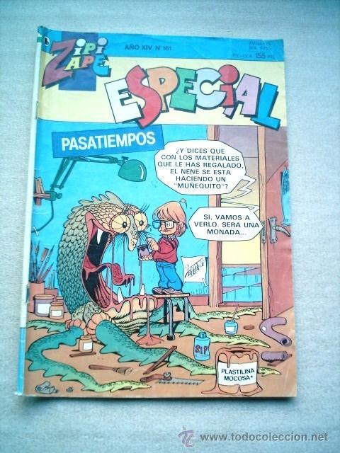 ZIPI ZAPE ESPECIAL Nº 161 PASATIEMPOS / BRUGUERA 1986 (Tebeos y Comics - Bruguera - Cuadernillos Varios)