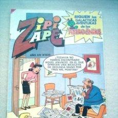 Tebeos: ZIPI Y ZAPE Nº 606 BRUGUERA 1985 CON NOLA Y ASTROSNIKS. Lote 2489394