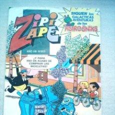 Tebeos: ZIPI ZAPE Nº 603 BRUGUERA 1984 CON NOLA Y ASTROSNIKS. Lote 5487386