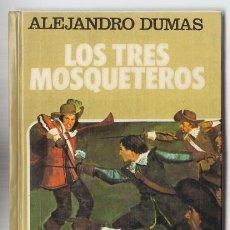 Tebeos: HISTORIAS SELECCION CLASICOS JUVENILES 4 – LOS TRES MOSQUETEROS, ALEJANDRO DUMAS – BRUGUERA AMBROS. Lote 35777758