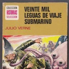 Tebeos: HISTORIAS SELECCION JULIO VERNE 1 – 20,000 LEGUAS DE VIAJE SUBMARINO – BRUGUERA. Lote 34659830