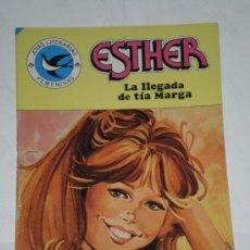 Tebeos: ESTHER JOYAS LITERARIAS FEMENINAS Nº 103 LA LLEGADA DE TÍA MARGA EDITORIAL BRUGUERA 1984 1ª EDICIÓN. Lote 34689573