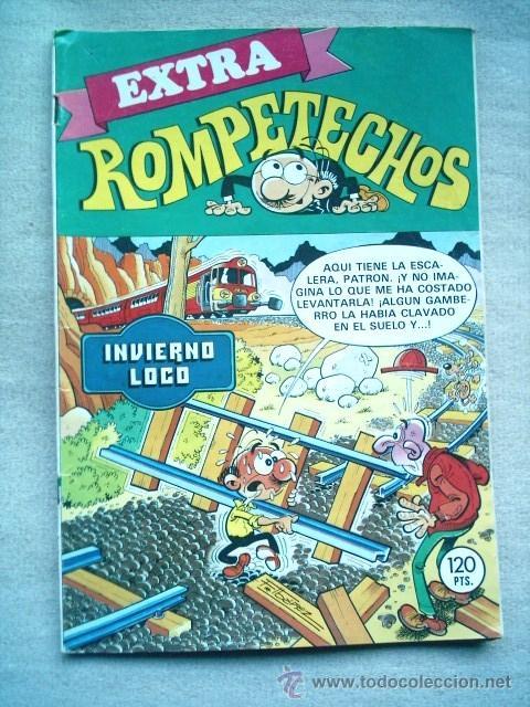 ROMPETECHOS EXTRA 43 INVIERNO LOCO BRUGUERA 1983 (Tebeos y Comics - Bruguera - Cuadernillos Varios)