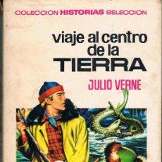 Tebeos: VIAJE AL CENTRO DE LA TIERRA JULIO VERNE AÑO 1967 TAPA DURA CON SOBRECUBIERTA. Lote 34693752