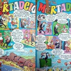 Tebeos: LOTE 2 COMICS DE MORTADELO AÑO XLL Nº 528 Y 529-NUEVOS 1981. Lote 34756727