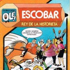 Tebeos: ESCOBAR REY DE LA HISTORIETA - COLECCIÓN OLÉ Nº 291 - BRUGUERA. Lote 34862540
