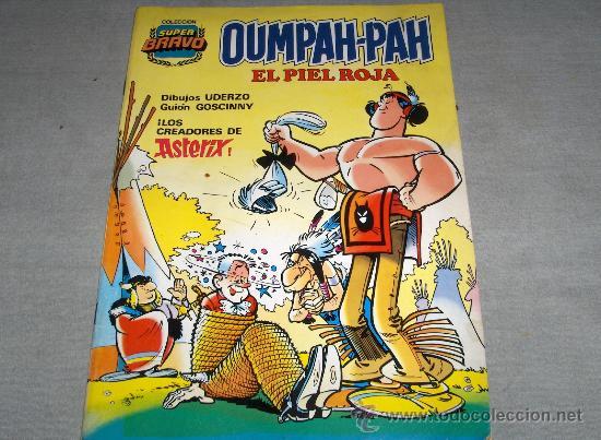 COL. SUPER BRAVO OUMPAH-PAH EL PIEL ROJA Nº 1. BRUGUERA 1982. 175 PTS. REGALO Nº 4. (Tebeos y Comics - Bruguera - Bravo)