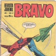 Tebeos: BRAVO Nº 27 EDI. BRUGUERA 1968 -MICHEL TANGUY UDERZO,GRAND PRIX, BLUEBERRY, AQUILES TALON. Lote 34928252